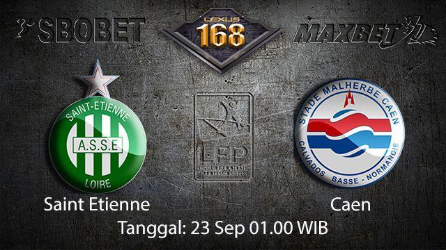 Prediksi Bola Jitu Saint Etienne vs Caen 23 September 2018 ( French Ligue 1 )