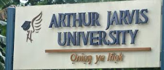 Arthur Jarvis University 2nd Matriculation Ceremony Date - 2017/2018