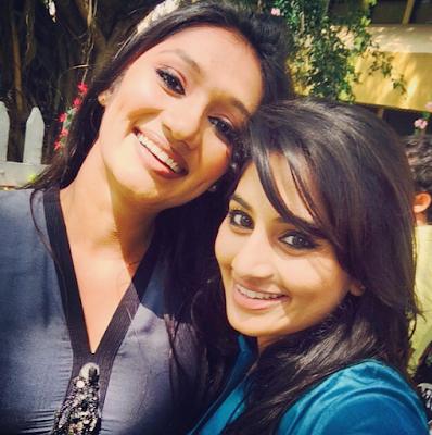 Upeksha Swarnamali With Seshadri