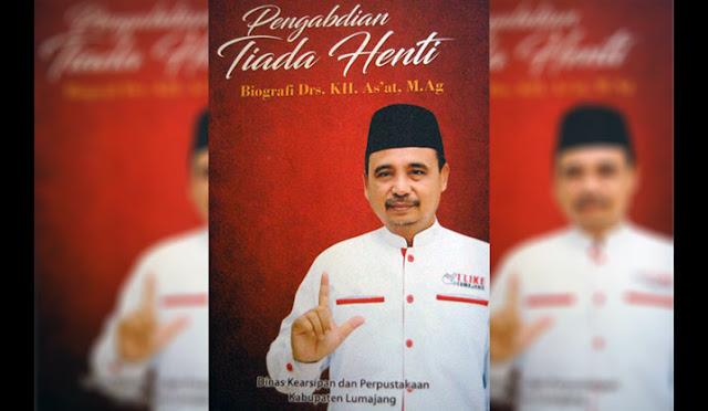 Sampul buku biografi As'at Malik