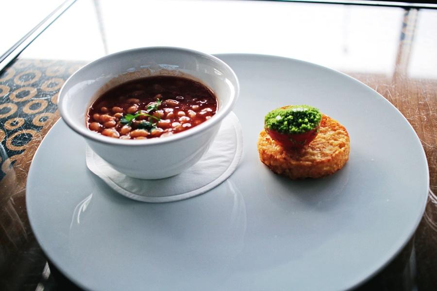 soup beans rösti