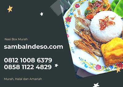 harga catering nasi kotak  enak daerah Ciputat tangerang selatan