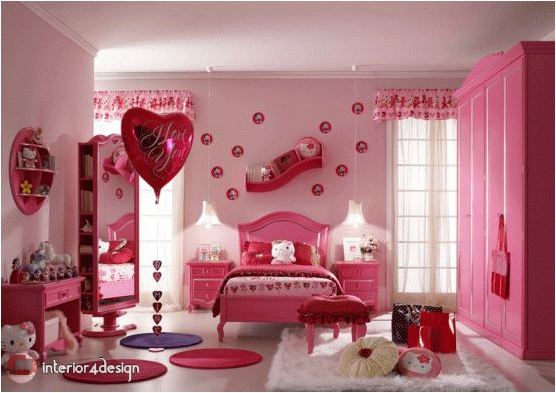 pink bedrooms for teen girls 13