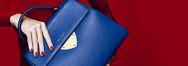 Coccinelle b14 bag blue