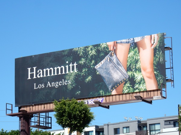 Hammitt handbags Los Angeles billboard