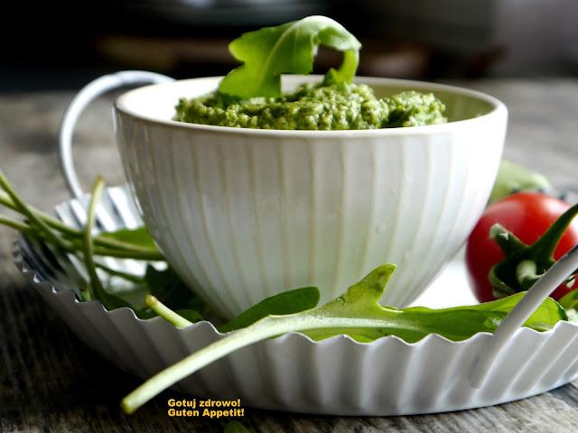 Pesto z rukoli  i pestek dynii - Czytaj więcej »