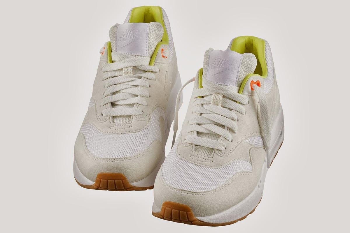 online store df894 7a1bd ... of the Nike Air Max 1, both featuring yellow linings and gum  outer-soles. A release is scheduled for September 30, with the online  release taking place ...