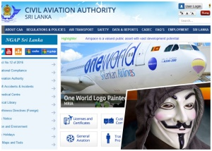Hacks Aviation website and inserts photo of his own face ... because of desire of becoming pilot!