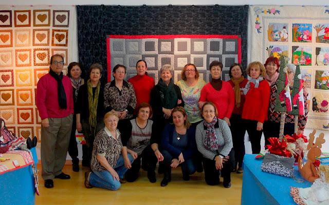 Exposición del colectivo de Mujeres Amistad. IMAGEN ILLESCAS COMUNICACION