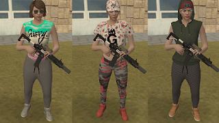 [MTA:SA] Pack De Skin Do GTA V Online