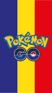 Wallpaper Pokemon GO flag Romania for Android phone and iPhone Free