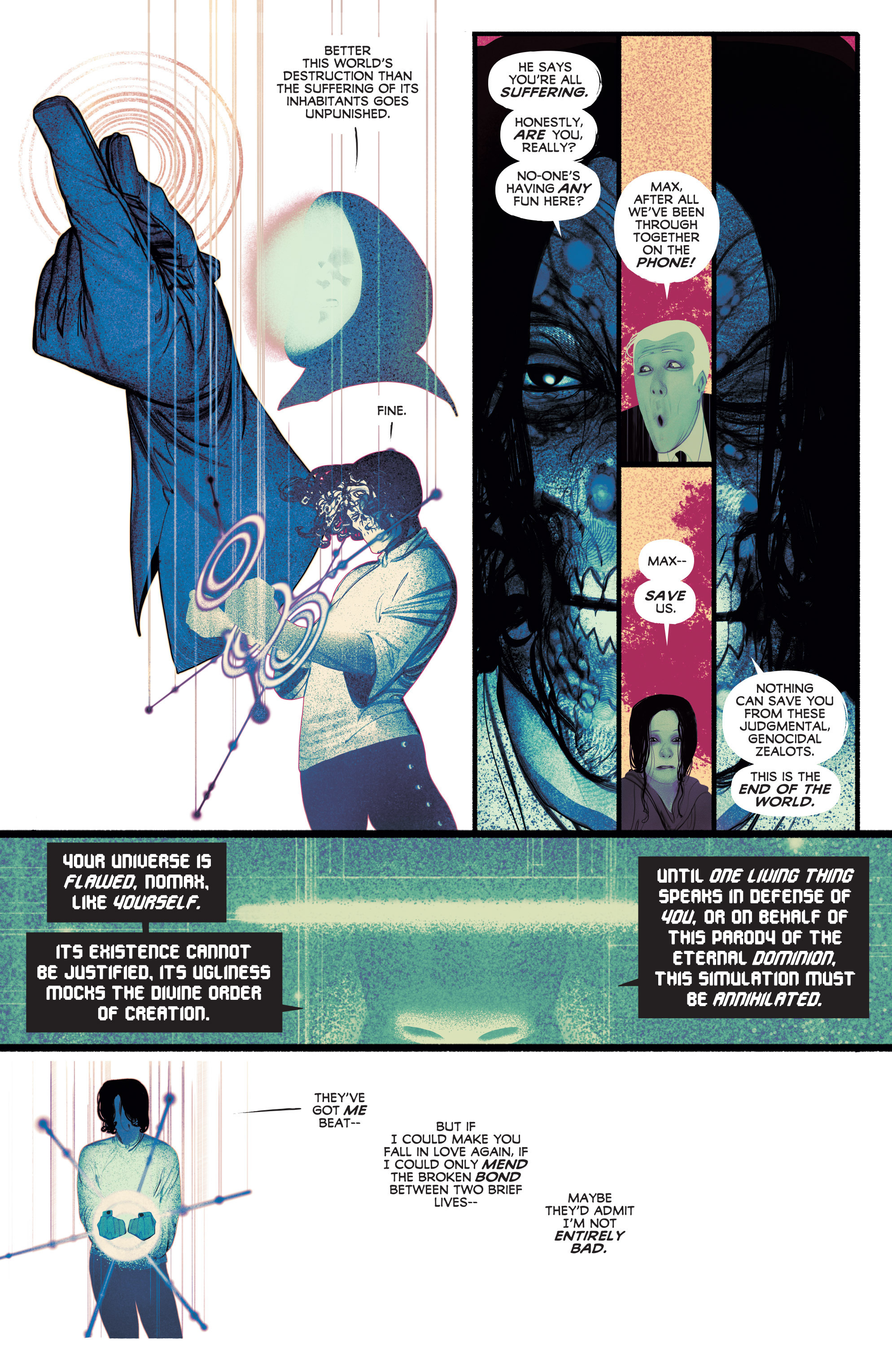 Read online Annihilator comic -  Issue #6 - 30