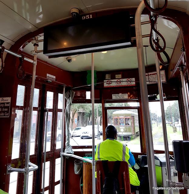 Streetcar, o bondinho de Nova Orleans