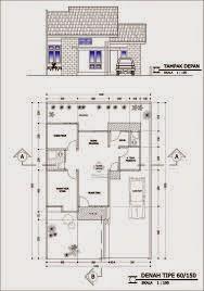 Untuk memiliki rumah nyaman, rapi dan sehat tidak harus dengan ukuran yang besar, karena hanya dengan luas ukuran tanah / lahan yang terbatas juga bisa tercapi.