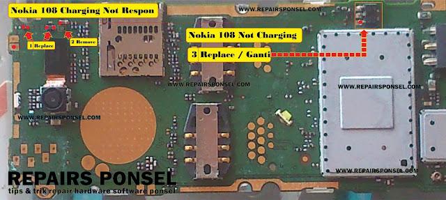 Nokia 108 Not Charging Tidak Mengisi