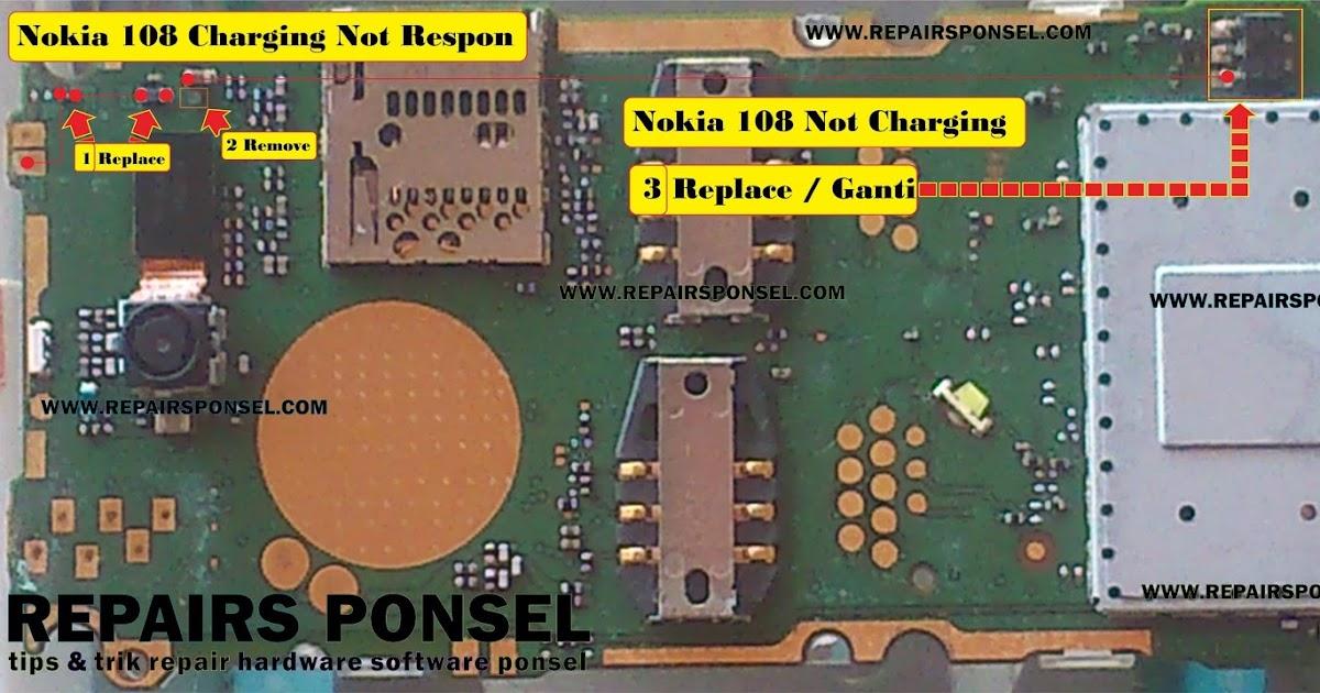 Nokia 108 Not Charging  Repairs Ponsel