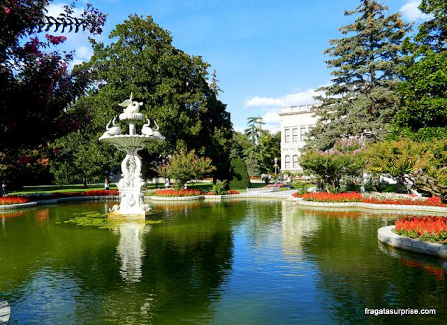 Jardins do Palácio de Dolmabahçe
