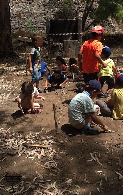 actividades niños arqueologia yukan