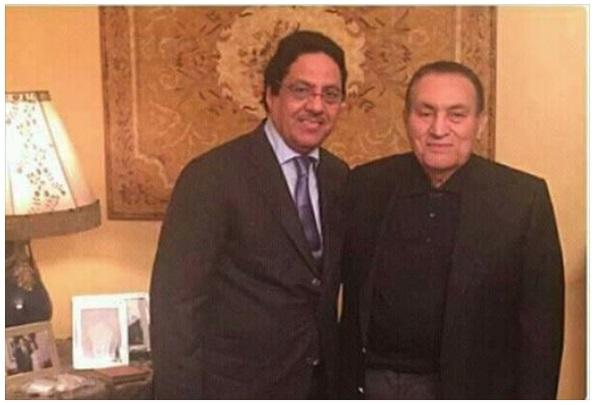 صورة لظهور الرئيس السابق حسني مبارك