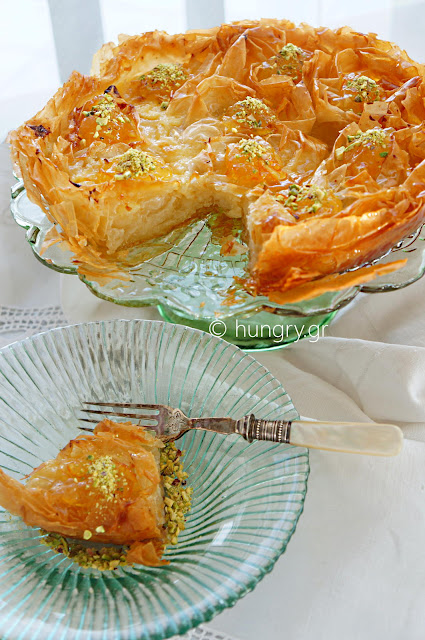 Custard Filled Pastry Torte
