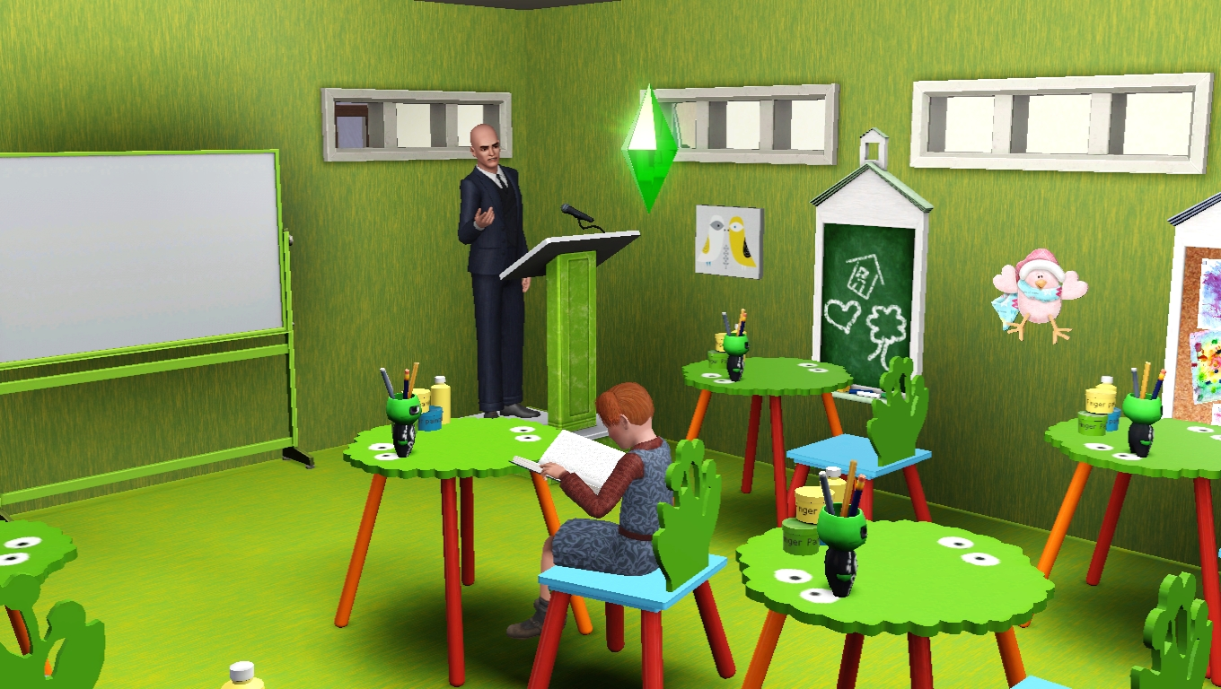 Sims 3 education career