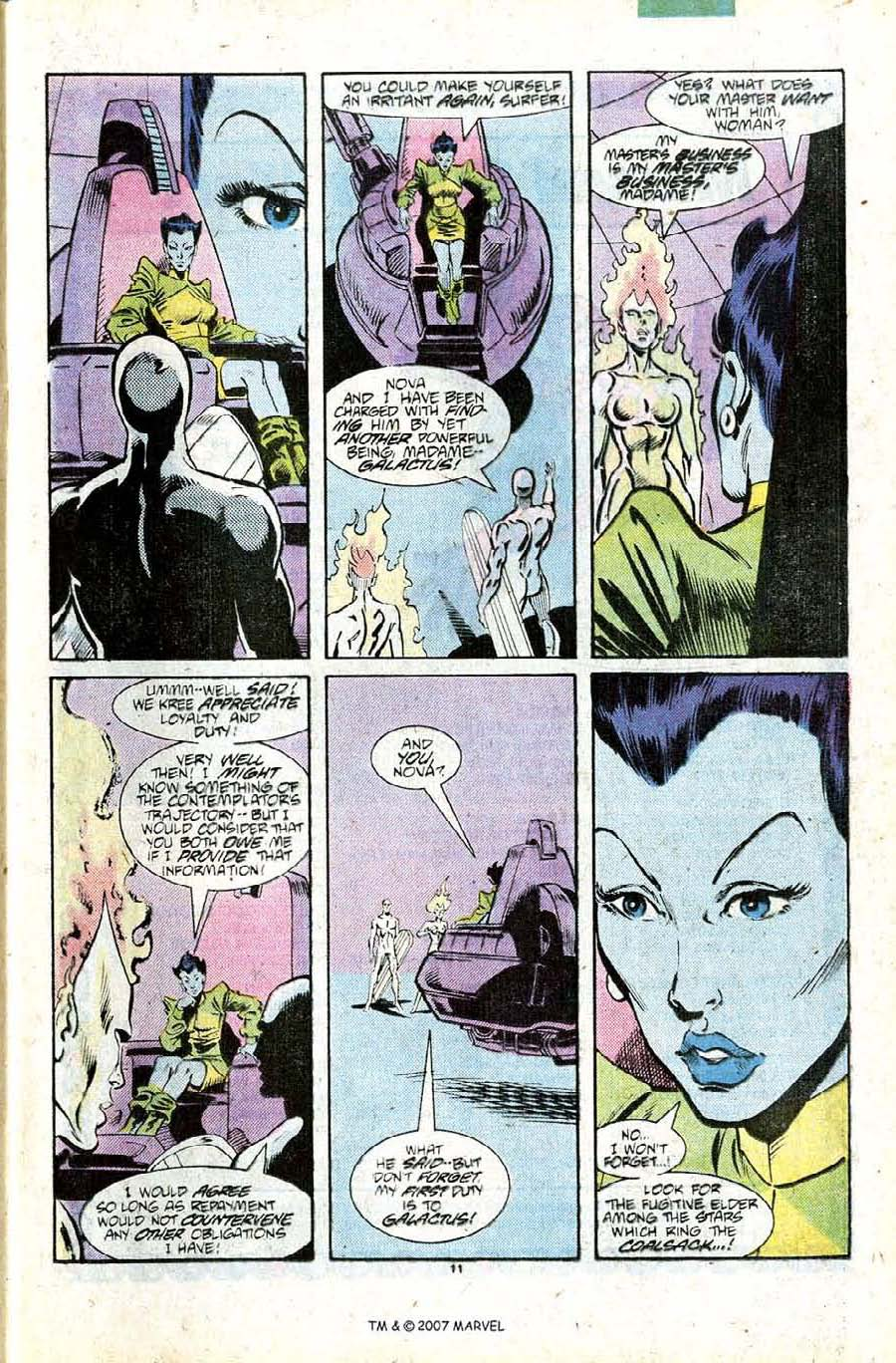 Read online Silver Surfer (1987) comic -  Issue #11 - 13