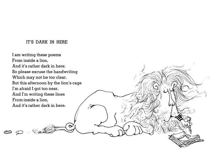 Shel Silverstein Best Poems: GooGooGallery: Where The Sidewalk Ends