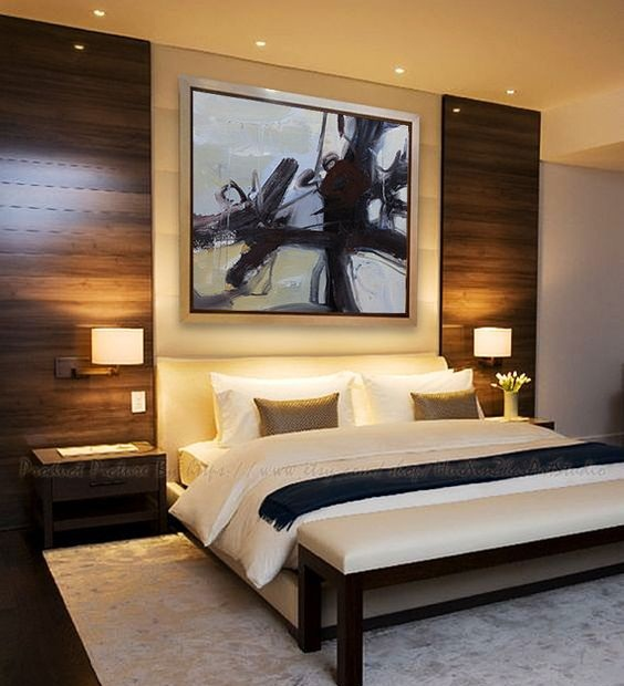 modern bedroom designs 2019 +30 Modern bedroom wall design ideas 2019