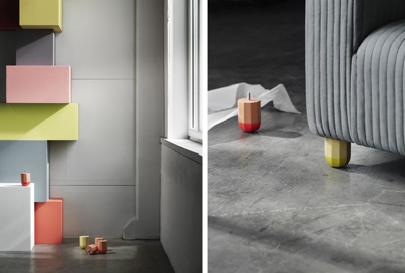 nuove gambe per KLIPPAN di IKEA