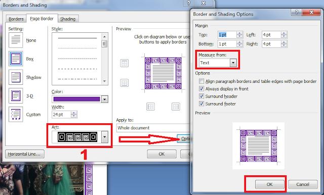 gambar 3 Cara Membuat Bingkai Keren Di Microsoft Word