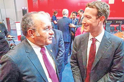 PM PNG, O'Neill Permasalahkan Facebook Kepada Zuckerberg (Pendiri Facebook)