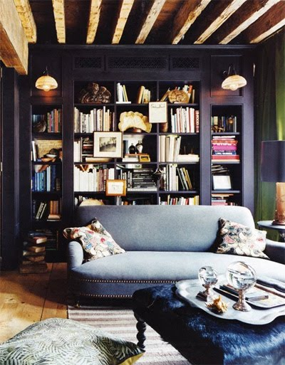 Creative Spaces Home Library