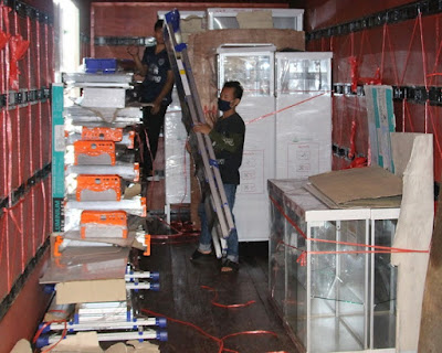 Heavy Duty Ladder delivery Thailand