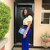 Photogist: Actress Chika Ike Looks Fabulous As She Steps Out In A Lovely Outfit