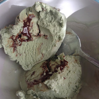 oppo mint choc swirl spirulina ice cream