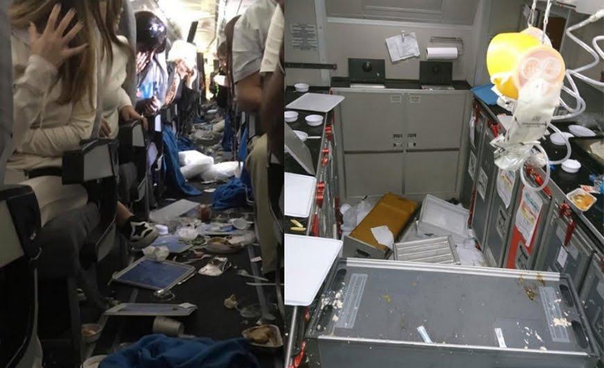 Turbolenze Volo aereo Miami-Buenos Aires di Aerolineas Argentinas provocano 15 feriti.