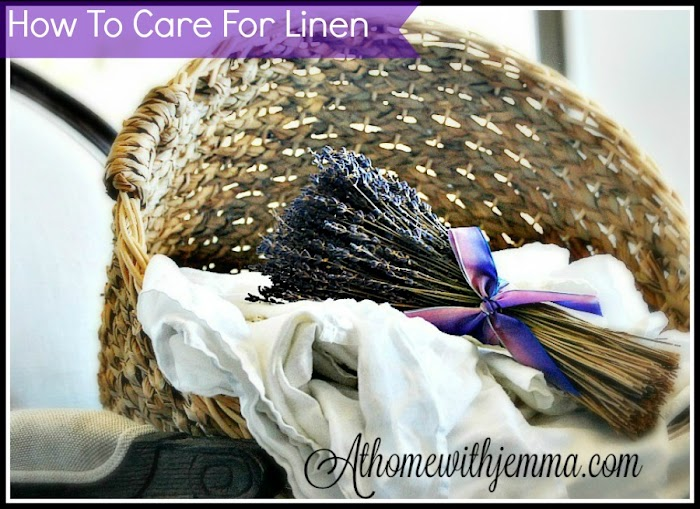 Wandering Wednesday~Caring for Linen