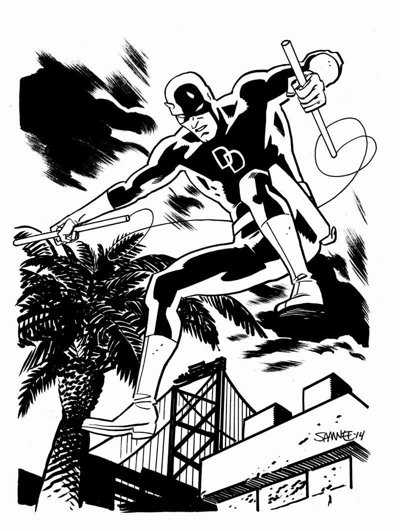Fashion and Action: The Daredevil Stylings of Chris Samnee