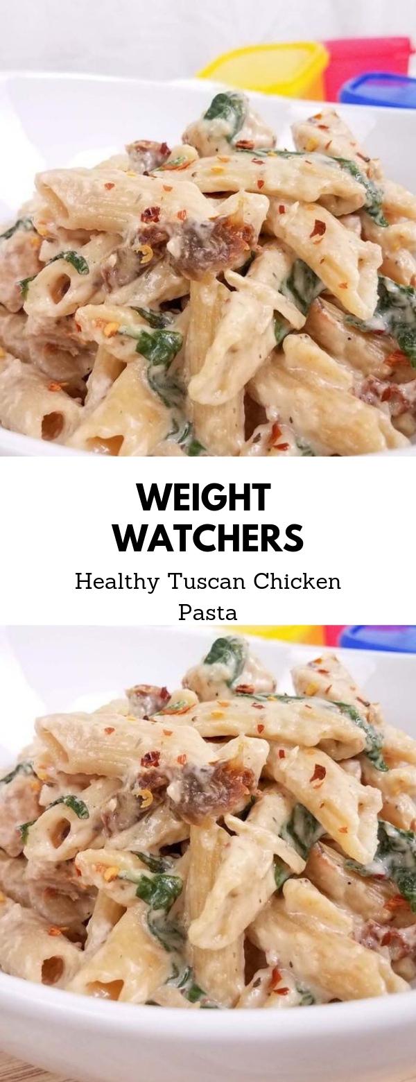 Weight Watchers Healthy Tuscan Chicken Pasta #Italian #maincourse #weightwatchers #chicken