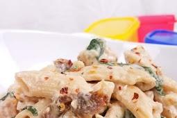 Weight Watchers Healthy Tuscan Chicken Pasta