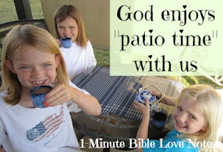 patio, God, Time with God