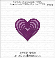 ODBD Custom Layering Hearts Dies