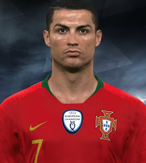 PES 2017 Faces Cristiano Ronaldo by Facemaker Huseyn