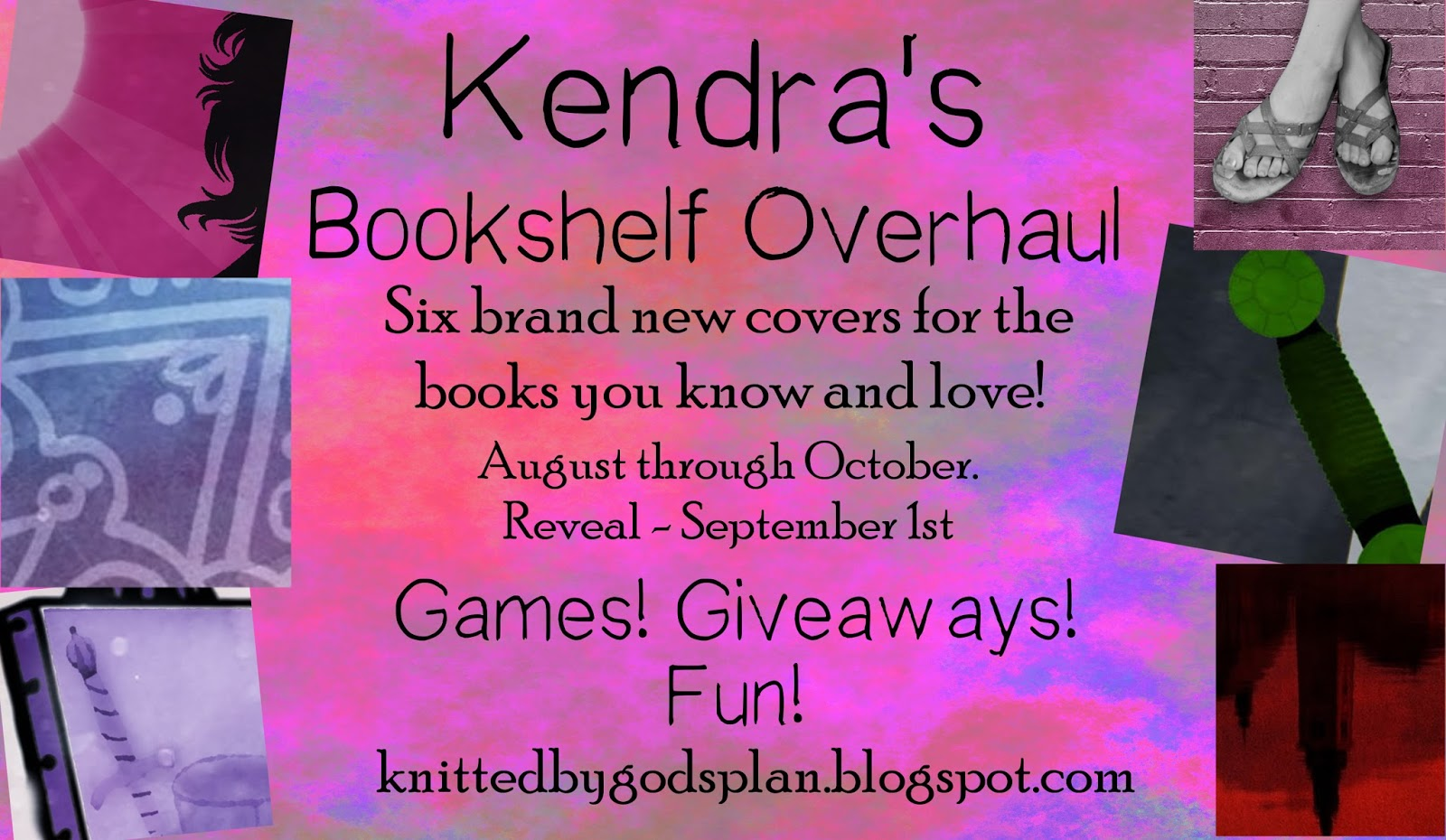 Knitted by God's Plan: Bookshelf Overhaul + Giveaway