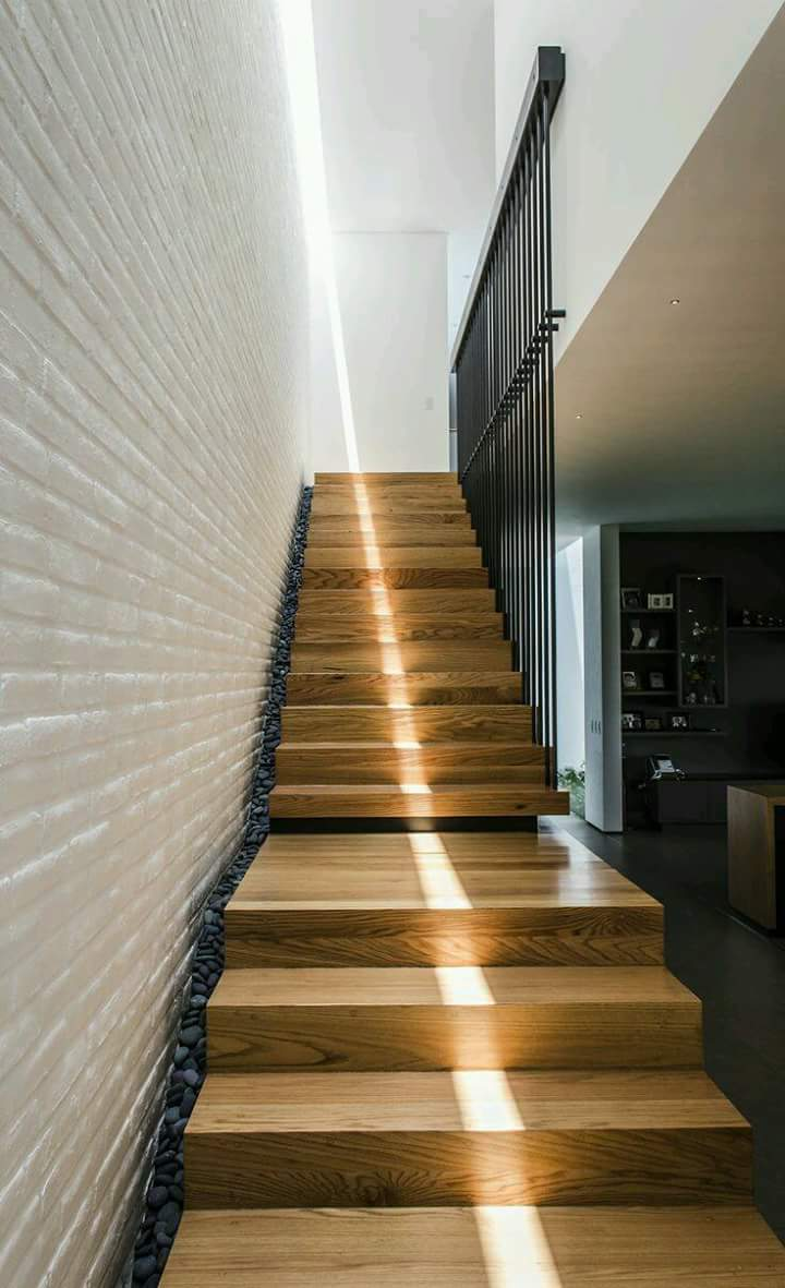 Decorar Pared De Escalera En El Blog De Mariposas Blancas Nos  ~ Como Decorar La Pared De Una Escalera