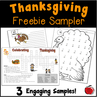 https://www.teacherspayteachers.com/Product/FREE-Thanksgiving-Worksheets-104641