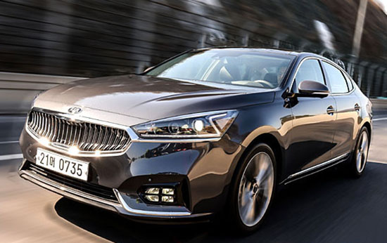 More Pictures Of The All New 2017 Kia Cadenza K7