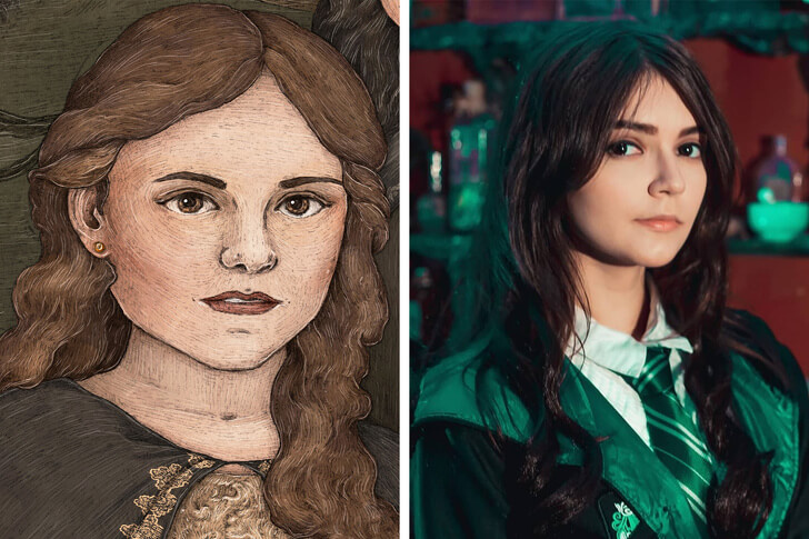 22 Mind-Blowing Pictures Of A Russian Girl Transforming Herself Into Famous Fictional Characters