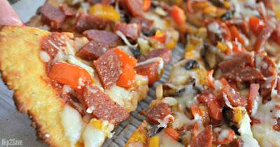 Fat Head Pizza Crust Recipe (Finally a Low Carb Pizza I LOVE!)