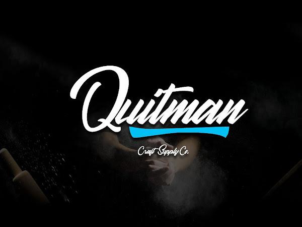 Quitman Bold Script Font Free Download